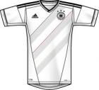 Adidas - DFB H JSY - Farbe: WHITE/BLACK - Größe: X