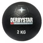 Derbystar - MEDIZINBALL 1 KG - Farbe: schwarz